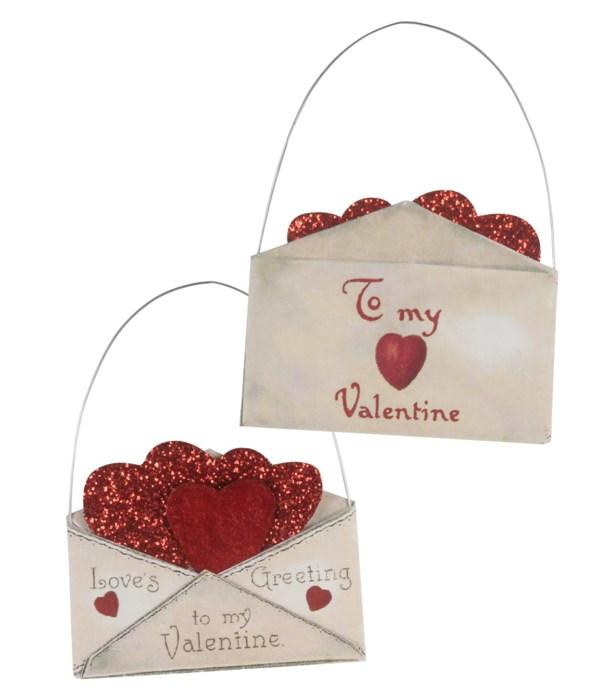 Valentine Envelope Ornament 2A
