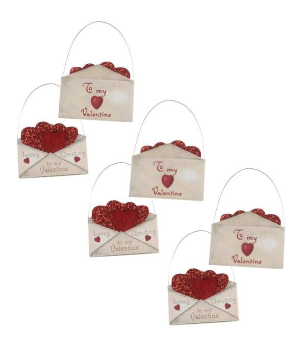 Valentine Envelope Ornament S6