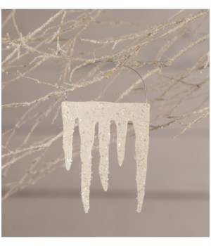 Dripping Icicles Ornament