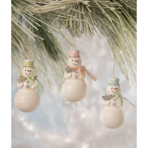 Flea Market Snowman Ornament 3/A