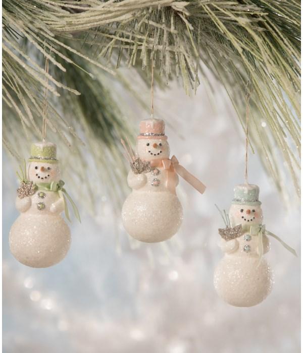 Flea Market Snowman Ornament 3A