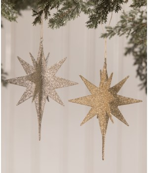 Shine Bright Moravian Star Ornament 2/A