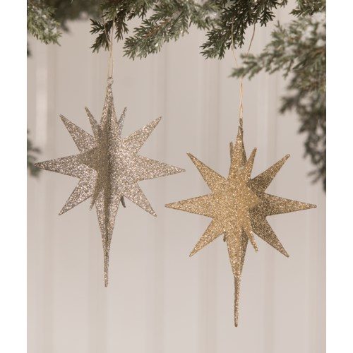 Shine Bright Moravian Star Ornament 2A
