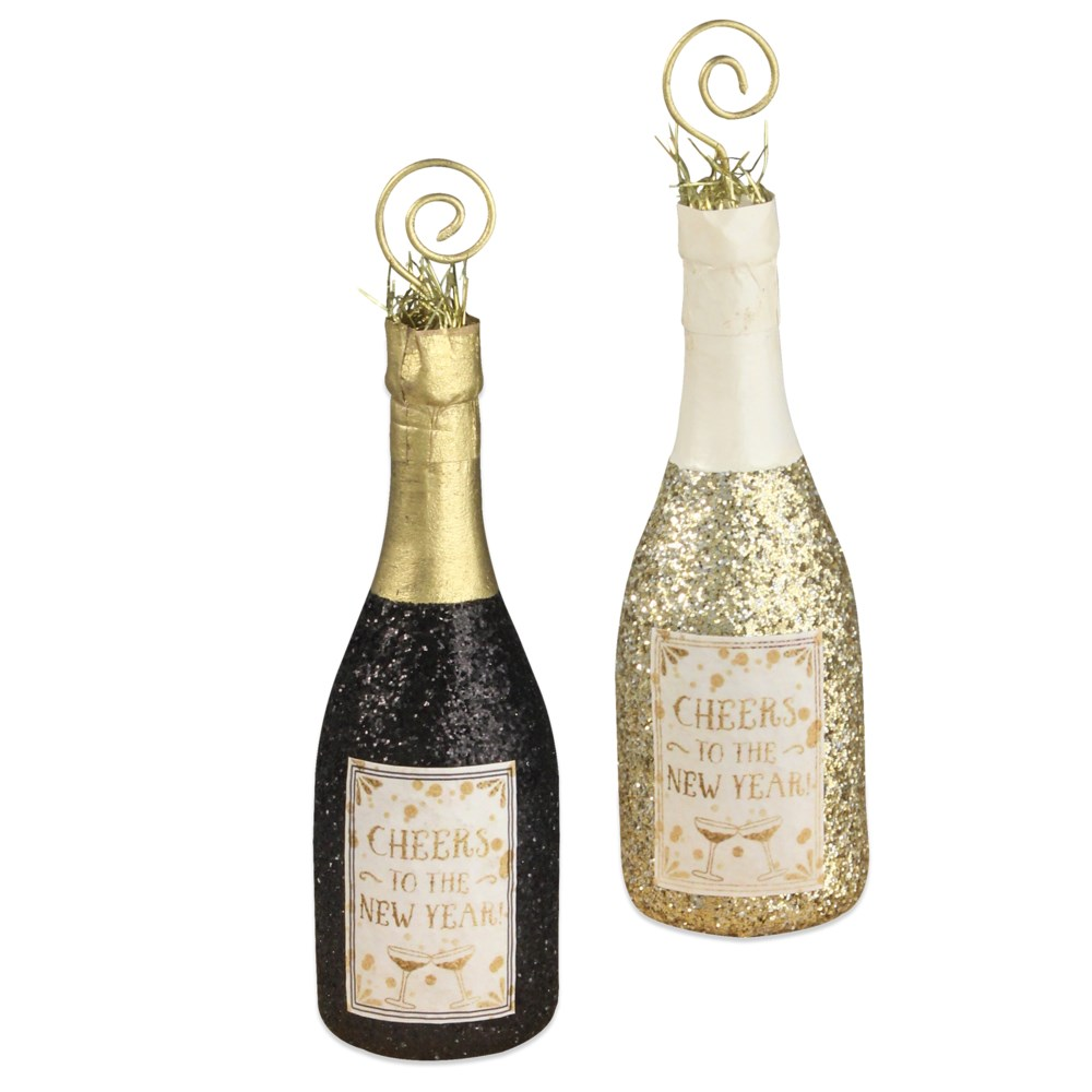 Champagne Bottle Place Card Holder 2A