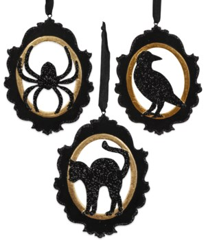 All Hallows' Eve Cameo Ornament 3A