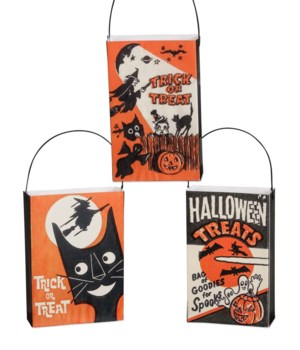 Mini Trick or Treat Bag Ornament 3A