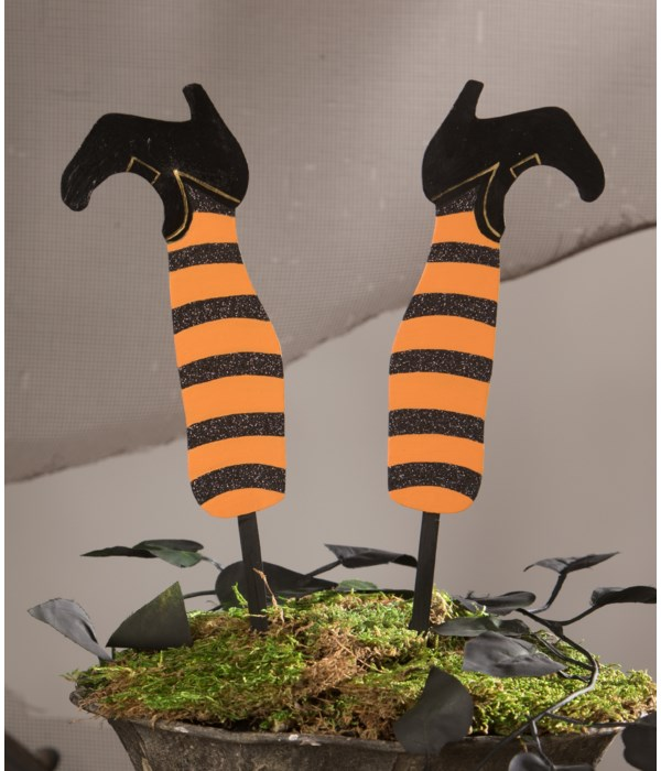 Witch's Legs Floral Pick S2