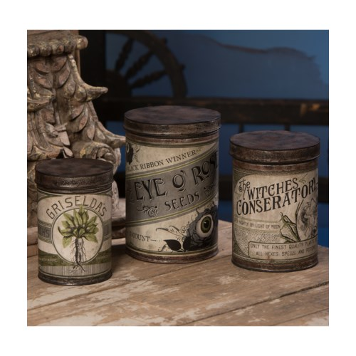 Witch's Conservatory Canister S3