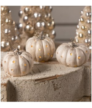 Romantic Pumpkin Luminary 3/A
