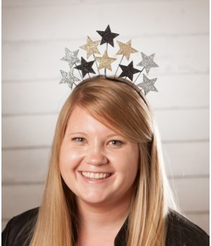 NEW YEAR'S STAR HEADBAND