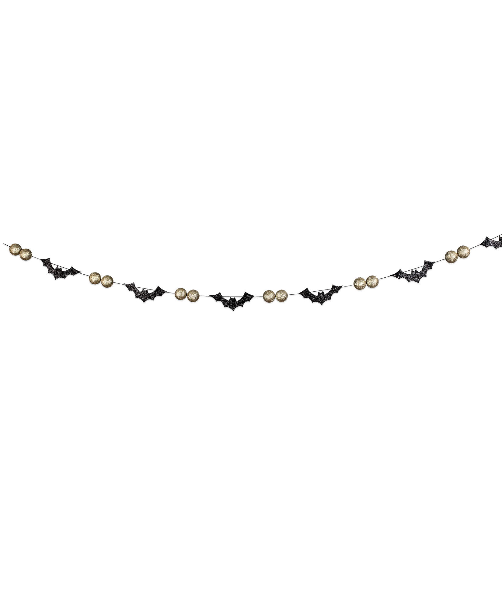All Hallow S Eve Bat Bead Garland All Halloween Bethany Lowe Designs