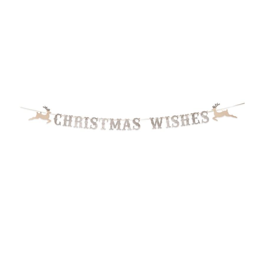 Christmas Wishes Garland