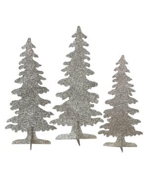 Platinum Silhouette Forest S/3