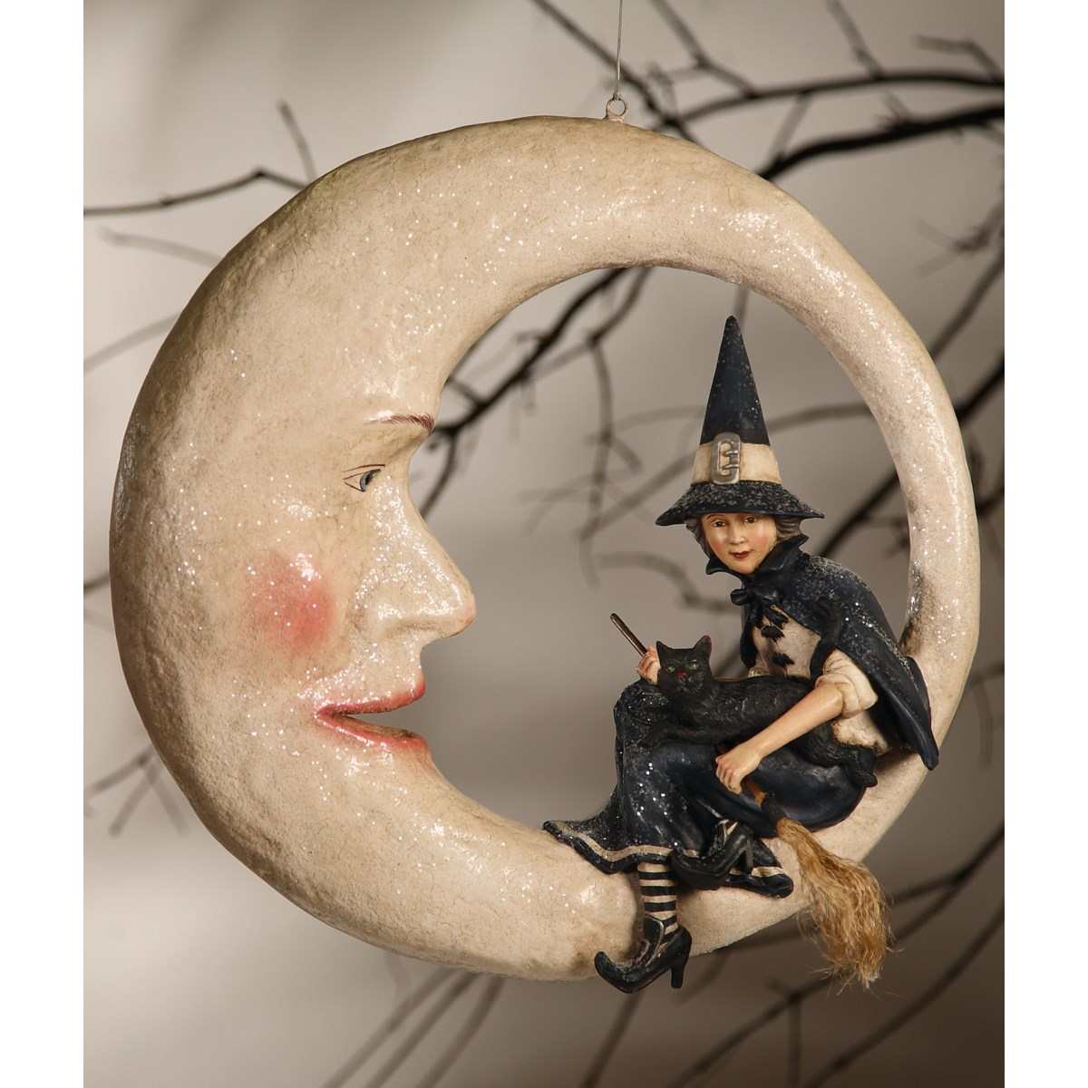 Witch On Moon