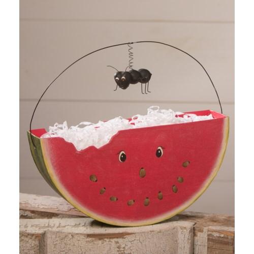 Hello Summer Watermelon Bucket