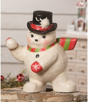 Snowball Fight Snowman