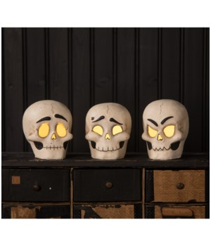 Skully Head Luminary 3/A