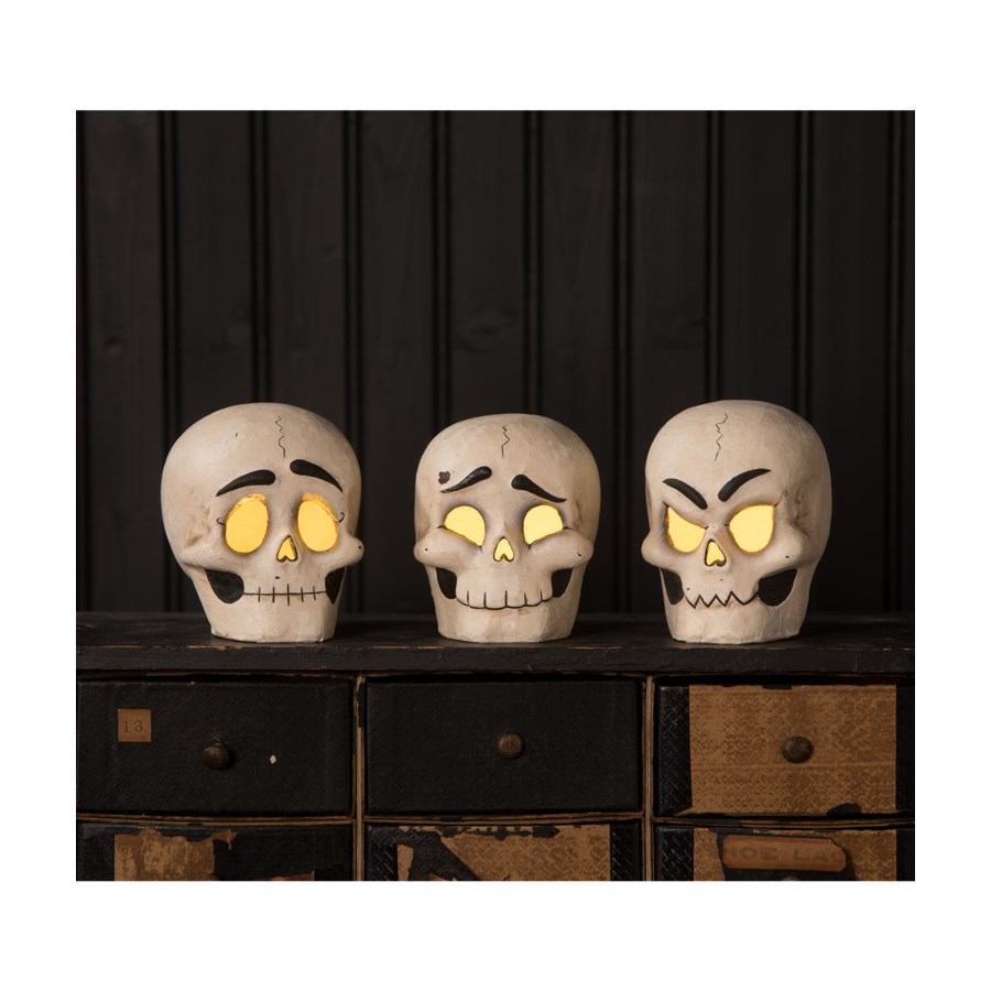 Skully Head Luminary 3A