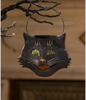 Vintage Happy Cat Bucket Small