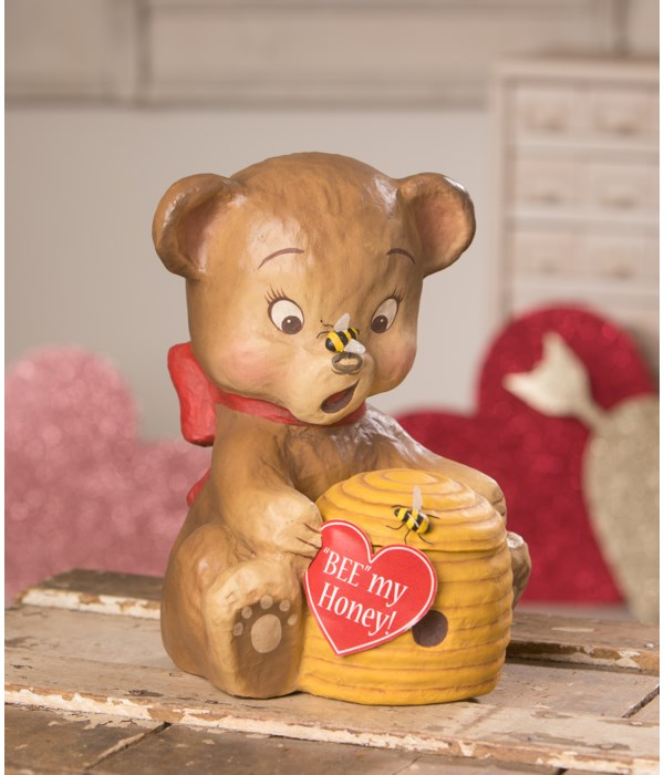 The Bear and the Bees Paper Mache