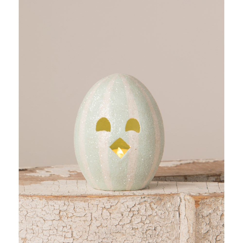 Chickie Egg Luminary Blue