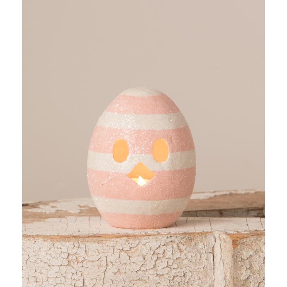 Chickie Egg Luminary Pink