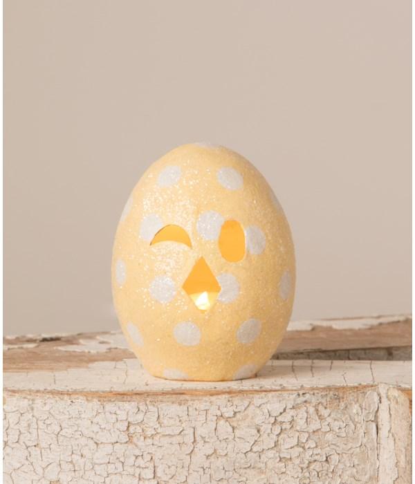 Chickie Egg Luminary Yellow