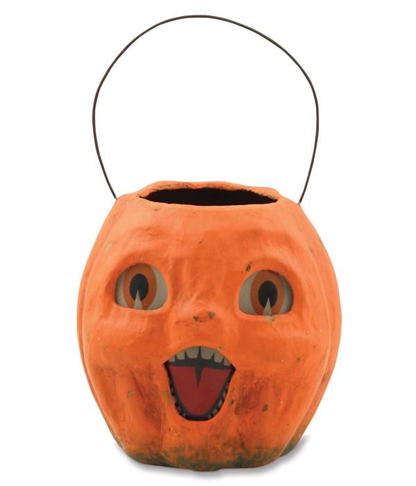 Vintage Pumpkin Bucket Small