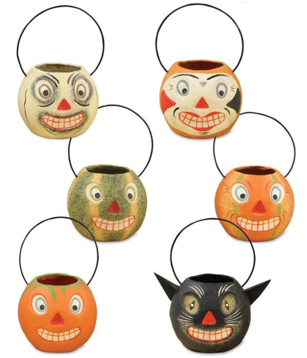 Mini Vintage Halloween Bucket 6A