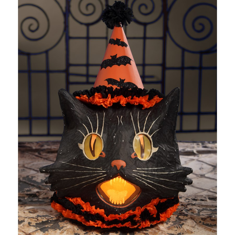 Sassy Cat Lantern Large