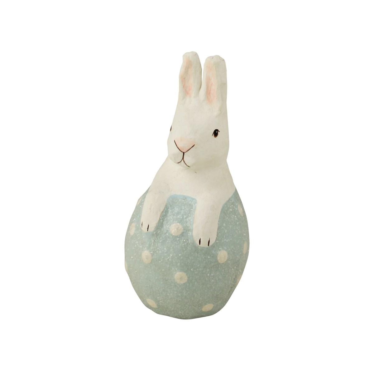Little Bunny in Blue Egg