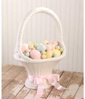 Easter Basket Large Paper Mache