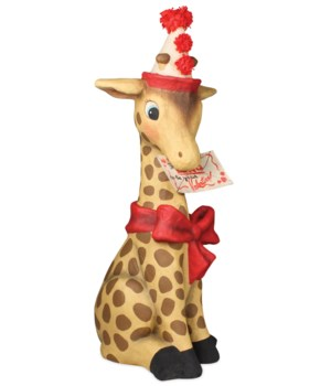 I Long to be with You Giraffe Large Paper Mache