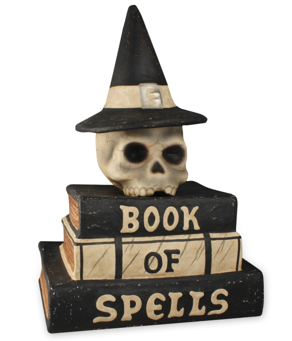 Book Of Spells Large Paper Mache
