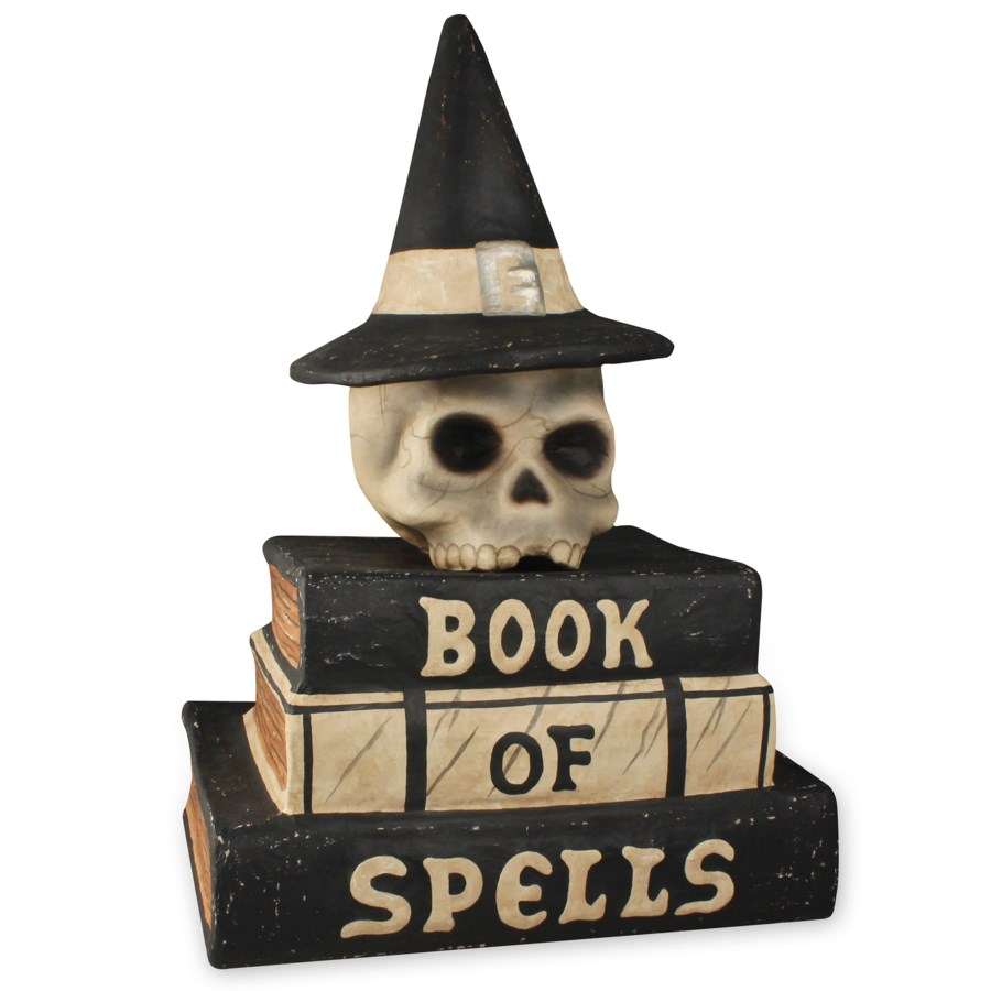 Book Of Spells Large Paper Mache