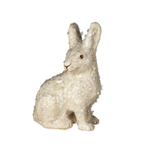 Hare Paper Mache Ornament