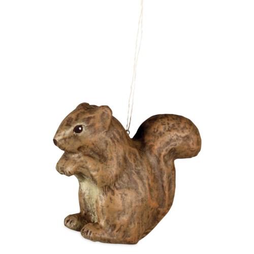 Squirrel Paper Mache Ornament