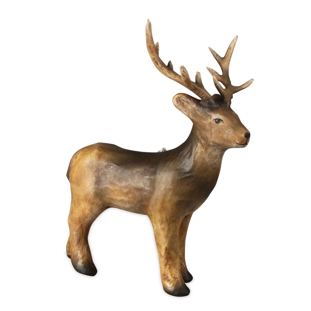 Deer Paper Mache Ornament