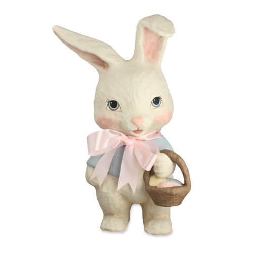 Sweet Bunny Large Paper Mache