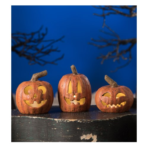 Party Pumpkin Luminary 3/A