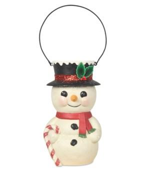 Snowman Bucket Head