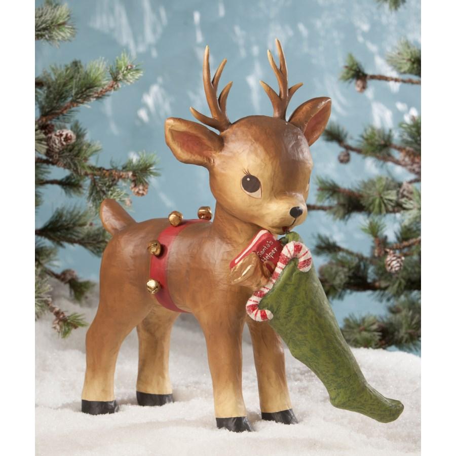 Santa's Helper Reindeer Paper Mache