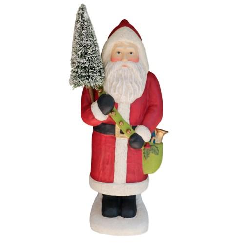 Santa Claus Large Paper Mache