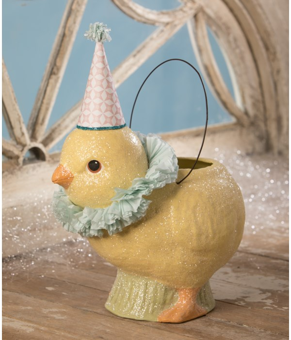 Party Chick Bucket Large Paper Mache