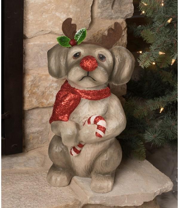 Reindeer Pup Large Paper Mache