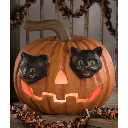Cat Eyes Jack-O-Lantern