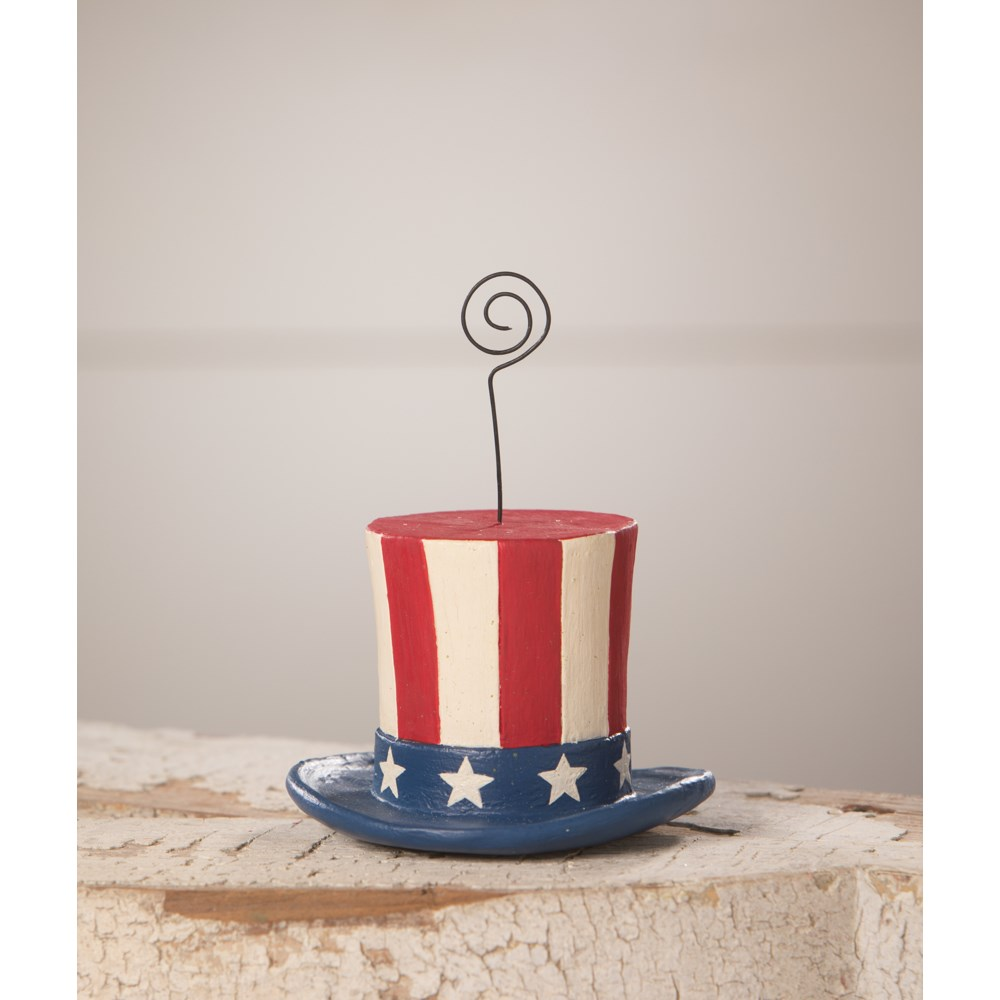 Uncle Sam Top Hat Ornament & Place Card Holder