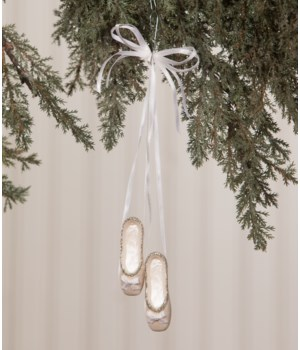 Peaceful Ballerina Slippers Ornament