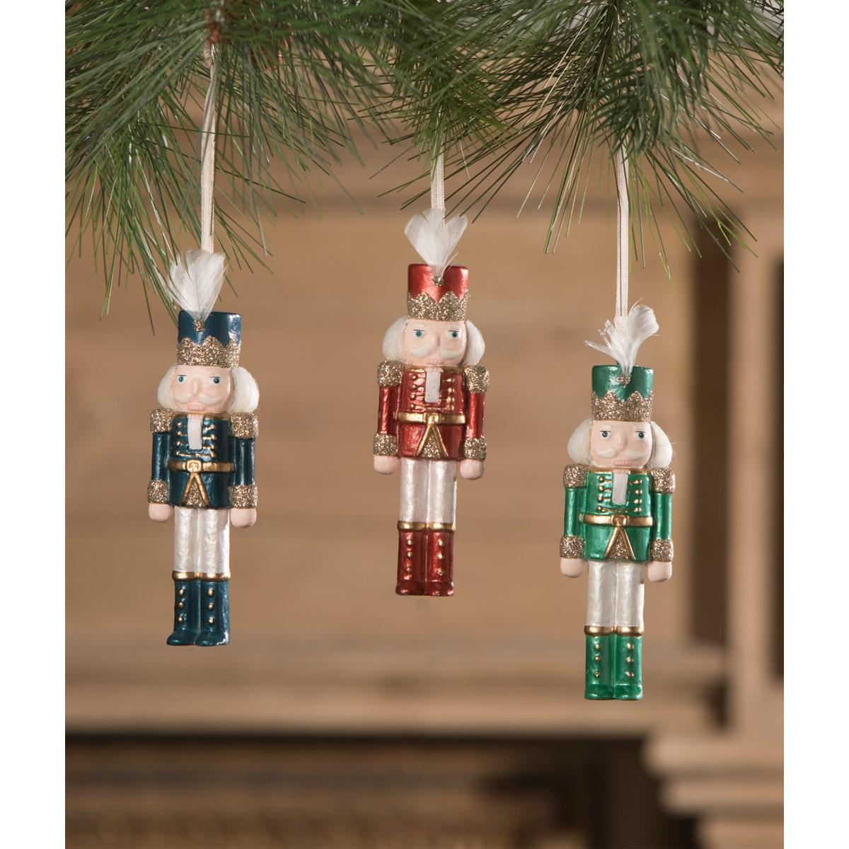 Jewel-Tide Nutcracker Ornament 3A