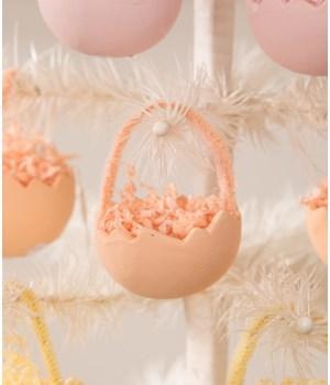 Cracked Egg Orange Ornament